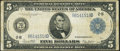 Fr. 851a $5 1914 Federal Reserve Note Fine