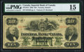 Canadian Currency, Toronto, ON- Imperial Bank of Canada $10 2.1.1920 Ch.# 375-16-12PMG Choice Fine 15.. ...