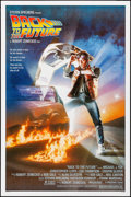 """Movie Posters:Science Fiction, Back to the Future (Universal, 1985). Folded, Very Fine+. One Sheet(27"""" X 41""""). SS, Drew Struzan Artwork. Science Fiction...."""