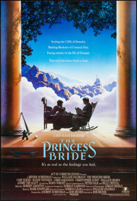 "The Princess Bride (20th Century Fox, 1987). Rolled, Very Fine+. International One Sheet (27"" X 39.5""). SS, Jo..."