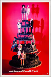 "The Rocky Horror Picture Show (20th Century Fox, R-1985). Rolled, Very Fine-. 10th Anniversary One Sheet (27"" X 41&..."