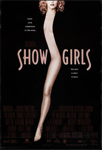 "Showgirls & Other Lot (MGM/UA, 1995). Rolled, Overall: Very Fine. One Sheets (3) (27"" X 40"") DS. Sexploita..."