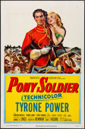 "Movie Posters:Western, Pony Soldier (20th Century Fox, 1952). Folded, Fine/Very Fine. OneSheet (27"" X 41""). Western.. ..."