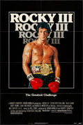 "Movie Posters:Sports, Rocky III (United Artists, 1982). Folded, Very Fine-. One Sheet(27"" X 41""). Sports.. ..."