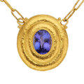 Estate Jewelry:Necklaces, Tanzanite, Gold Necklace, Gurhan. ...