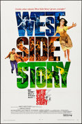 "Movie Posters:Academy Award Winners, West Side Story (United Artists, R-1968). Folded, Very Fine-. OneSheet (27"" X 41""). Academy Award Winners.. ..."
