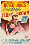 """Movie Posters:Comedy, Cluny Brown (20th Century Fox, 1946). Folded, Fine-. One Sheet (27""""X 41""""). Comedy.. ..."""