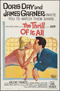 """The Thrill of It All (Universal International, 1963). Folded, Very Fine. One Sheet (27"""" X 41""""). Comedy"""