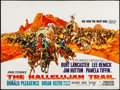 "Movie Posters:Western, The Hallelujah Trail (United Artists, 1965). Folded, Very Fine-.British Quad (30"" X 40""). Frank McCarthy Artwork. Western...."