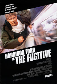 "The Fugitive & Other Lot (Warner Brothers, 1993). Rolled, Very Fine+. One Sheets (2) (27"" X 40"" &a..."