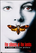 """The Silence of the Lambs (Orion, 1991). Rolled, Very Fine-. One Sheet (27"""" X 40"""") DS Advance, Style A. Thrille..."""