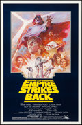 "Movie Posters:Science Fiction, The Empire Strikes Back (20th Century Fox, R-1981). Rolled, VeryFine. One Sheet (27"" X 41"") Tom Jung Artwork. Science Ficti..."