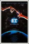 """Movie Posters:Science Fiction, E.T. The Extra-Terrestrial (Universal, 1982). Rolled, Very Fine+.One Sheet (27"""" X 41""""). John Alvin Artwork. Science Fiction..."""