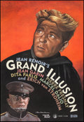 "Movie Posters:Foreign, La Grande Illusion (Rialto, R-1999). Rolled, Very Fine+. One Sheet (26.5"" X 38.5"") DS, Paul Davis Artwork. Foreign.. ..."
