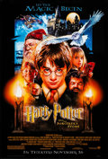 """Movie Posters:Fantasy, Harry Potter and the Sorcerer's Stone (Warner Brothers, 2001).Rolled, Near Mint. One Sheet (27"""" X 40"""") DS Advance. Fantasy...."""