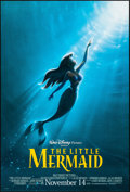"""Movie Posters:Animation, The Little Mermaid (Buena Vista, R-1997). Rolled, Near Mint. One Sheet (27"""" X 40"""") DS Advance, John Alvin Artwork. Animation..."""