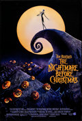 """Movie Posters:Animation, The Nightmare Before Christmas (Touchstone, 1993). Rolled, VeryFine+. One Sheet (27"""" X 40""""). Animation.. ..."""