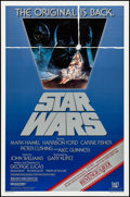 """Movie Posters:Science Fiction, Star Wars (20th Century Fox, R-1982). Rolled, Very Fine/Near Mint. One Sheet (27"""" X 41"""") Tom Jung Artwork. Science Fiction...."""