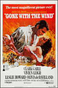 "Movie Posters:Academy Award Winners, Gone with the Wind (MGM, R-1980). Rolled, Very Fine-. One Sheet(27"" X 41"") Howard Terpning Artwork. Academy Award Winners...."