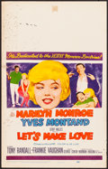 "Movie Posters:Comedy, Let's Make Love (20th Century Fox, 1960). Fine. Window Card (14"" X 22""). Comedy.. ..."