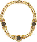 Estate Jewelry:Necklaces, Diamond, Ruby, Ancient Coin, Gold Necklace. ...