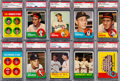Baseball Cards:Sets, 1963 Topps Baseball Partial Set (443/576) - Includes #537 Rose PSA 7....
