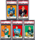 Football Cards:Sets, 1969 Topps Football Complete Set (263). ...