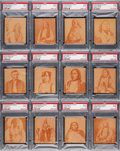 """Non-Sport Cards:Sets, 1930's R184-2 """"Indian Chiefs"""" Complete Set (24) - #1 on the PSA Set Registry! ..."""