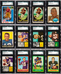 Football Cards:Lots, 1955 - 1964 Topps Football Shoebox Collection (970)....