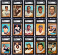 Baseball Cards:Autographs, Signed 1962 Topps Baseball Collection (509) - Includes #10 Clemente....