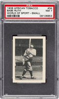 Baseball Cards:Singles (1930-1939), 1938 African Tobacco Babe Ruth (Small) #34 PSA NM 7. ...