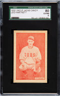 Baseball Cards:Singles (1930-1939), 1933 Uncle Jacks Candy Gabby Hartnett SGC 80 EX/NM 6 - Pop One, OneHigher. ...