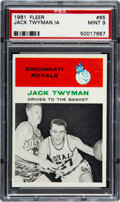 Basketball Cards:Singles (Pre-1970), 1961 Fleer Jack Twyman In Action #65 PSA Mint 9 - Only OneHigher....