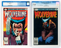 Modern Age (1980-Present):Superhero, Wolverine #1 and 3 CGC-Graded Group (Marvel, 1982).... (Total: 2 )