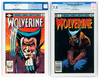 Wolverine #1 and 3 CGC-Graded Group (Marvel, 1982).... (Total: 2)