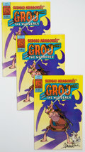 Modern Age (1980-Present):Humor, Groo the Wanderer #1 Group of 6 Signed by Sergio Aragones (Pacific Comics, 1982) Condition: Average NM.... (Total: 6 )