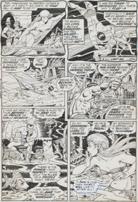 Bill Everett Sub-Mariner n°51 Original de la page 8 (Marvel, 1972)