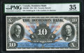 Canadian Currency, Toronto, ON- Dominion Bank of Canada $10 1.2.1931 Ch.# 220-24-08PMG Choice Very Fine 35.. ...