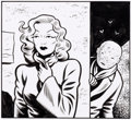 Original Comic Art:Splash Pages, Charles Burns Love Nest (Nid d'amour) Original d'un dessinpleine page (Éditions Cornélius, 2016)....