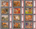 Non-Sport Cards:Lots, 1938 R69 Horrors of War PSA NM-MT Collection (14 Different). ...