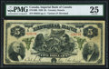 Canadian Currency, Toronto, ON- Imperial Bank of Canada $5 2.1.1920 Ch.# 375-16-06 PMG Very Fine 25.. ...