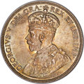 George V 50 cents 1921 MS66 PCGS