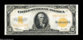 Large Size:Gold Certificates, Fr. 1173 $10 1922 Gold Certificate Very Choice New....