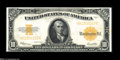 Large Size:Gold Certificates, Fr. 1173 $10 1922 Gold Certificate Choice New....