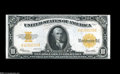 Large Size:Gold Certificates, Fr. 1173 $10 1922 Gold Certificate Extremely Fine-About New....