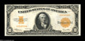 Large Size:Gold Certificates, Fr. 1173a $10 1922 Gold Certificate Gem New....