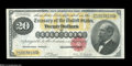 Large Size:Gold Certificates, Fr. 1178 $20 1882 Gold Certificate Very Fine....