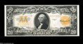 Large Size:Gold Certificates, Fr. 1187 $20 1922 Gold Certificate Gem New....