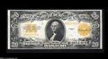 Large Size:Gold Certificates, Fr. 1187 $20 1922 Gold Certificate Very Choice New....