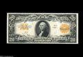Large Size:Gold Certificates, Fr. 1187 $20 1922 Serial Number One Gold Certificate Choice AboutNew....